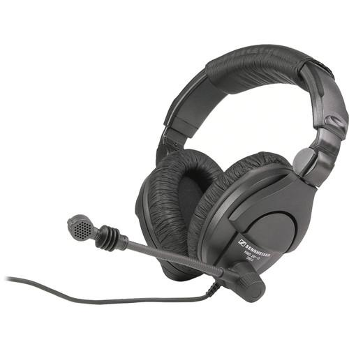 Sennheiser Hmd280-13  Dual-Sided Circumaural Closed-Back Headset With Supercardioid Boom Microphone