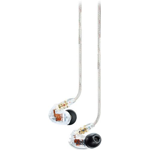 Shure Se425-Cl Sound Isolating In-Ear Stereo Headphones Clear