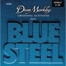 Dean Markley 2550 Blue Steel Electric Guitar Strings 8-38 2550 Extra Light - Red One Music