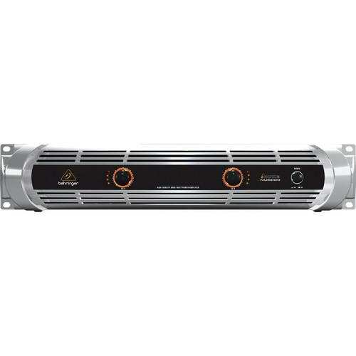 BEHRINGER NU6000 220V RACKMOUNT STEREO POWER AMPLIFIER