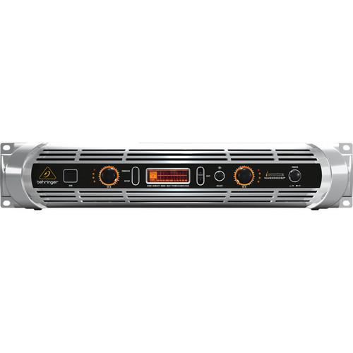 BEHRINGER NU6000DSP STEREO POWER AMPLIFIER ( DEMO 10/10 )