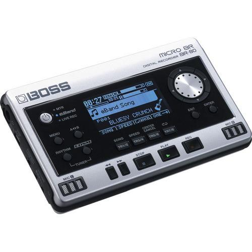 BOSS BR-80 8-TRACK DIGITAL RECORDER