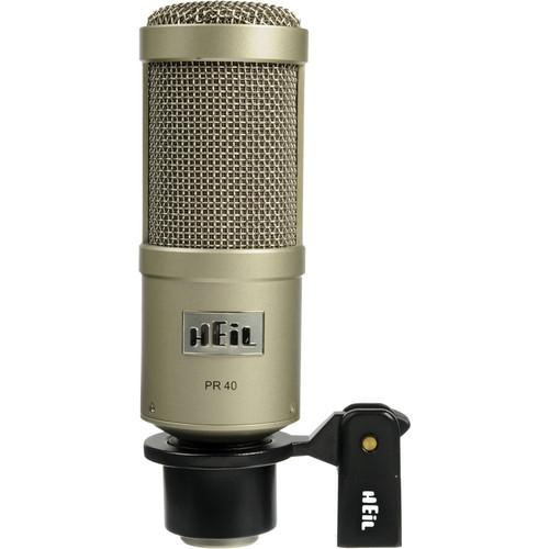 Microphone Heil Pr40 Champagne Studio - Red One Music