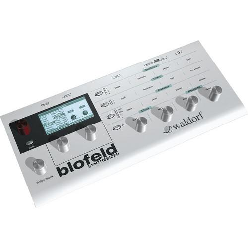 Waldorf Blofeld Dt White Desktop Synth - Red One Music