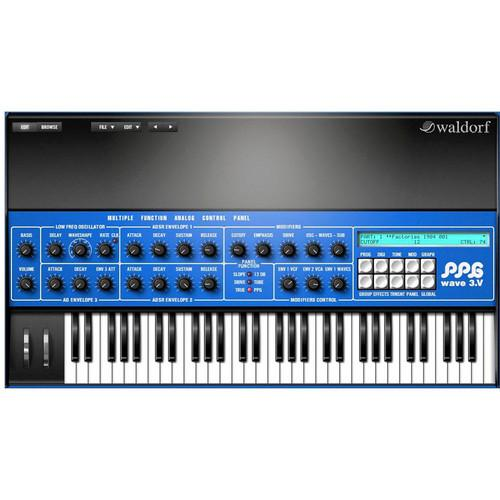 Waldorf Ppg 3V Wave Synthétiseur Plug-In