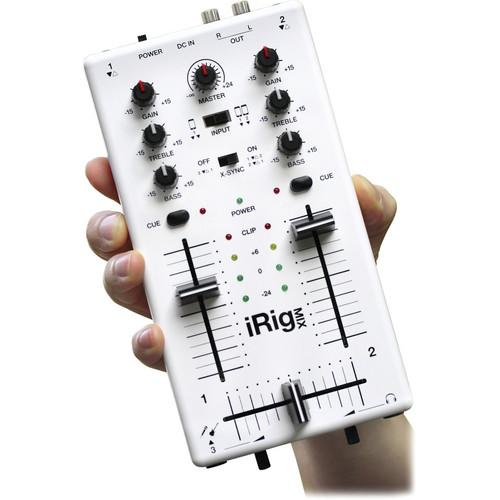 Ik Multimedia Irig Mix Ios Dj Mixer Mobile Mixer For Iphoneipadipod Touch - Red One Music