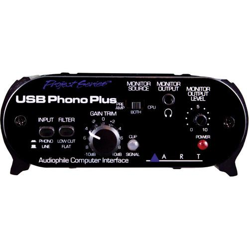 Art Usbphonoplusps Mixer et interface audio USB - Red One Music