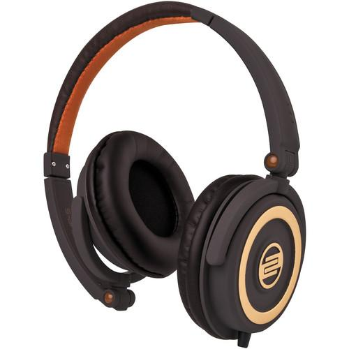 RELOOP RHP-5 CHOCOLATE CROWN CHOCOLATE CROWN DJ HEADPHONES W SMARTPHONE MIC AMP CONTROLS