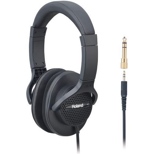 Roland Rh-A7-Bk Monitor Headphones Black