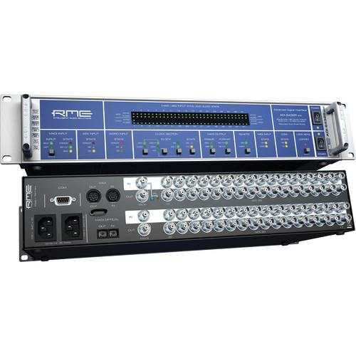 RME Adi-6432R BNC Single-Mode  Rmeadi-6432R Bnc 64-Channel 192 Khz Madiaes Format Converter Single-Mode - Red One Music