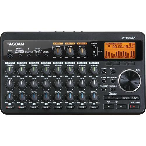 Tascam Dp-008Ex 8-Track Digital Pocketstudio