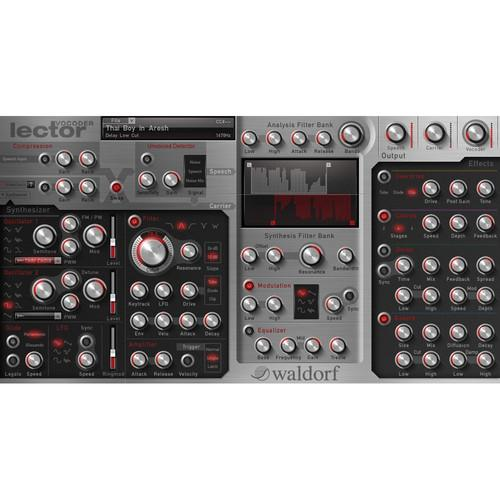 Plug-in Waldorf Lector Vst et Au - Red One Music