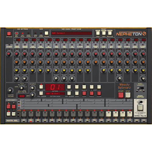 D16 Group Nepheton Drum Machine 808 Emulator Plug-In (Download)