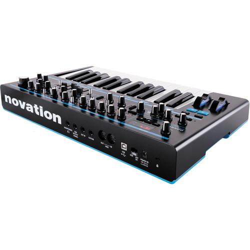 Novation BASS STATION II Monophonic Analog Synthesizer - Red One Music