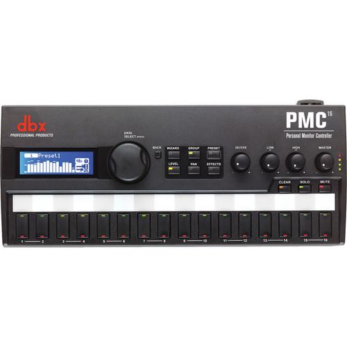 Dbx Pmc16 Personal Monitor Controller - Red One Music