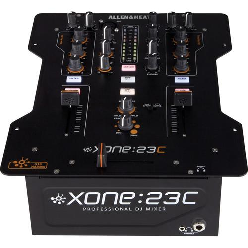 Allen  Heath Xone:23C Dj Mixer - Red One Music