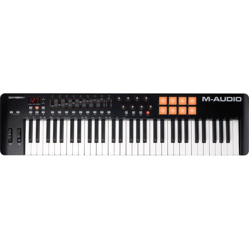 M-Audio Oxygen 61 Iv  Usb Midi Keyboard Controller - Red One Music