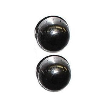 Ashly Klr-Lk2 Set Of 2 Aluminum Security Locking Knobs For Klr Front Panel Volume Controls