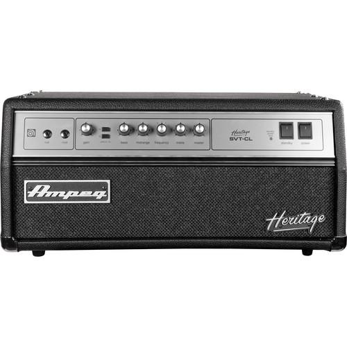 AMPEG SVT-CL 300W ALL-TUBE BASS AMPLIFIER HEAD