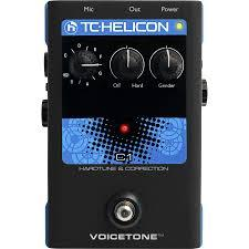 Tc Helicon Voicetone C1 Tc Heliconvoicetone Simple C1 Hardtune Correction De L'ampli