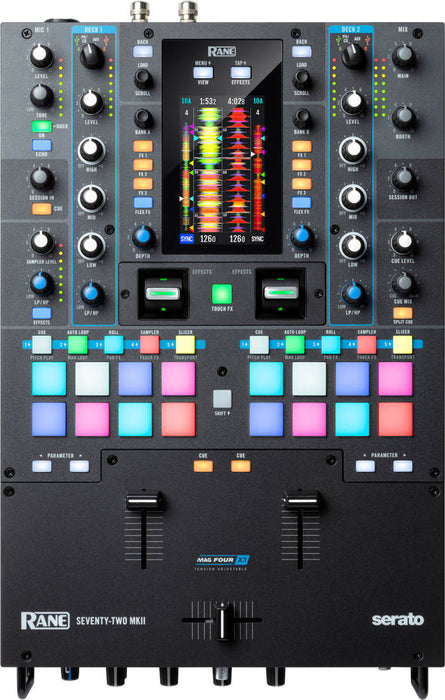 Rane SEVENTY-TWO MKII 2 canaux Serato DJ Battle Mixer