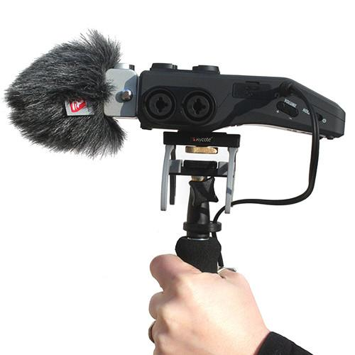 Rycote 046023 Windshield And Suspension Kit For Zoom H6 Portable Recorder - Red One Music