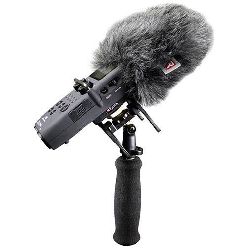 Rycote 046025 Windshield And Suspension Kit For Zoom H5 Portable Recorder - Red One Music