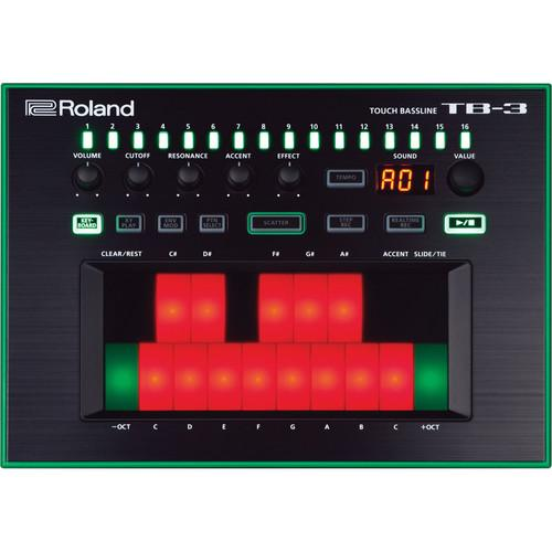 Synthétiseur Roland AIRA TB-3 Touch Bass-Line - Red One Music