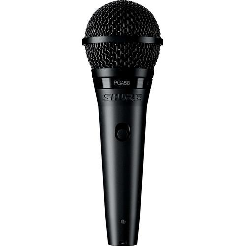 Shure Pga58-Qtr Vocal Microphone - Red One Music