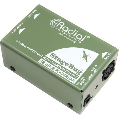 Radial Sb-48Ub Radial Engineeringsb-48Ub Phantom Supply With Instrument Output
