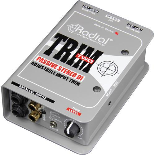 Radial Trim-Two Radial Engineeringtrim-Two Stereo Di With Volume Control