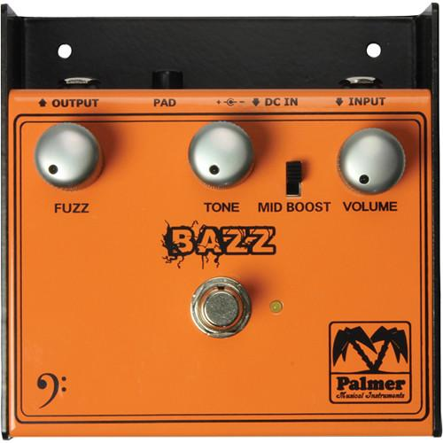 Palmer Pebaz The Bazz Fuzz Effect For Bass - Red One Music