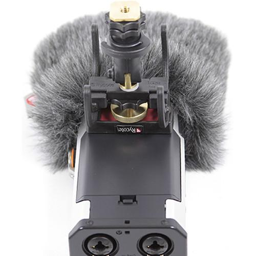 Rycote 055463 Tascam Dr-44Wl Mini Windjammer - Red One Music