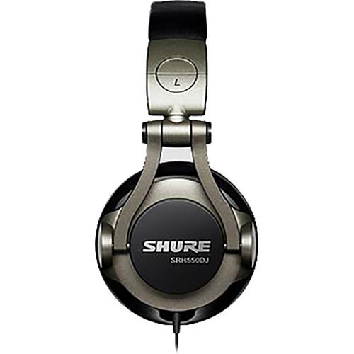 Shure Srh550Dj  Professional Quality Dj Headphones - Red One Music
