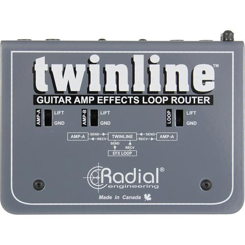 Radial Tonebone Twinline Fx Router pour deux amplificateurs de guitare - Red One Music