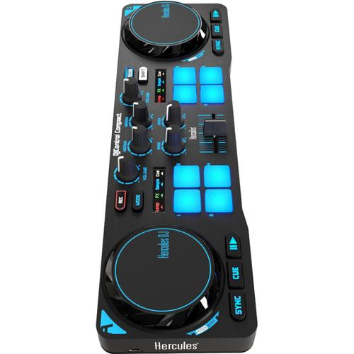 Hercules Djcontrol Compact Dj Software Controller - Red One Music