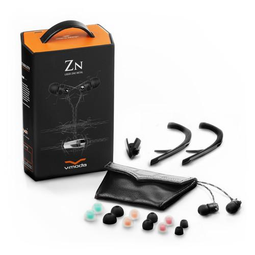 V-Moda Zn3B Nero In-Ear Headphones With 3-Button Remote - Red One Music