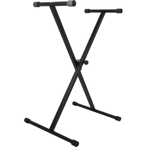 On-Stage KS7190 Classic Single-X Keyboard Stand - Red One Music