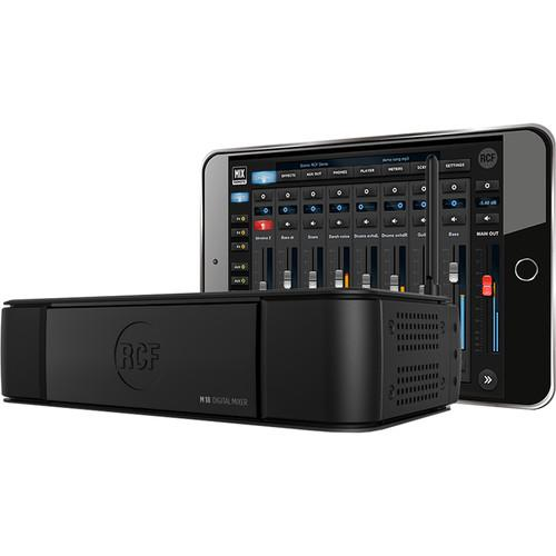 RCF M18  Digital Mixer With Integrated Effects Black - Red One Music
