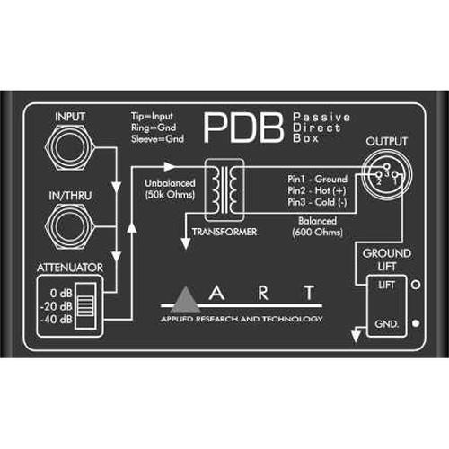 Art Pdb Single Channel Passive Direct Injection Box