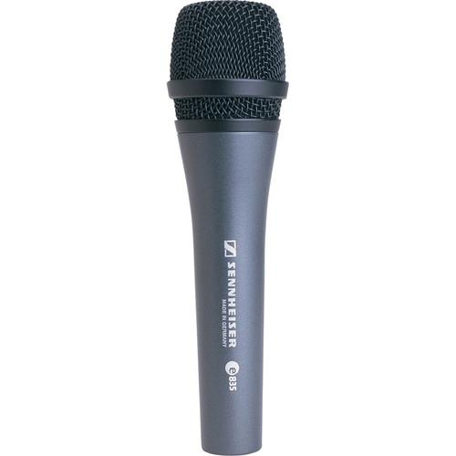 Sennheiser E 835 Stage Microphone - Red One Music