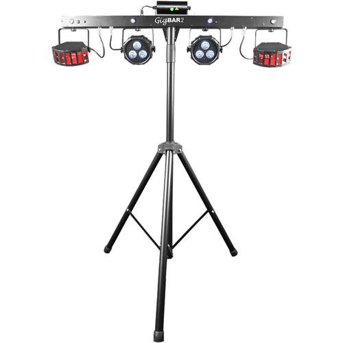 Chauvet Dj Gigbar 2  4-In-1 Multi-Effect Light - Red One Music