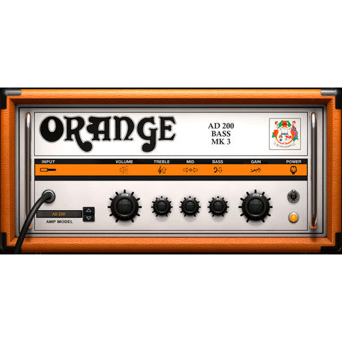 IK Multimedia AmpliTube Orange Guitar Amplifier and Cabinet Emulation Software (Download)