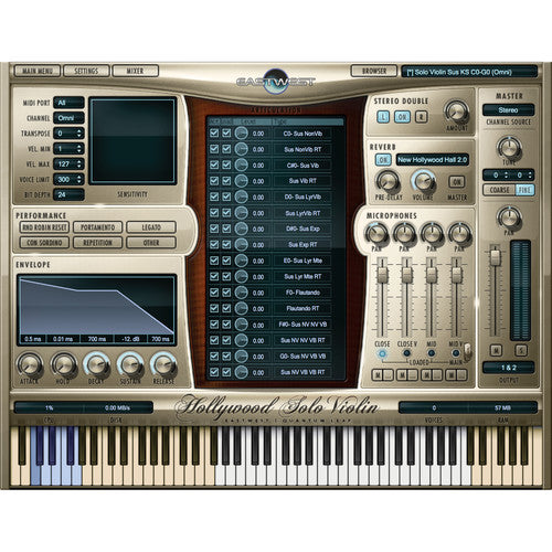 EastWest Sound Hollywood Solo Series Gold Edition - Virtual Instruments Bundle (Download)