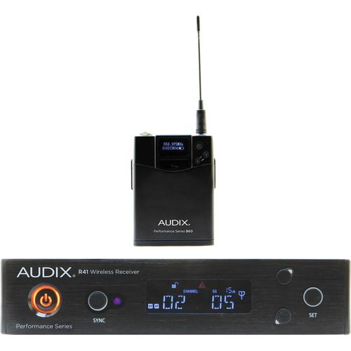 Audix Ap41 Bp-B Bodypack Wireless System - Red One Music