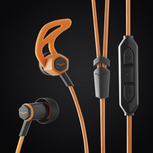 V-Moda Frz-A-Or Forza Android Orange Forza In-Ear Headphones - Red One Music