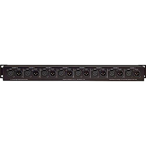 Art Artt8 8 Channel Transformer  Isolator In 1U Rack Mount