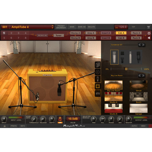 IK Multimedia AmpliTube Fender Collection 2, Classic Tube Amp Plug-Ins (Download)