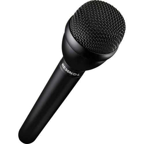 Electro-Voice RE50N/D-L Omnidirectional Dynamic Shockmounted Eng Microphone With Long Handle And Neodymium Capsule Black - Red One Music