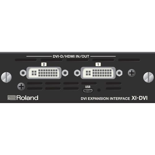 Interface d'extension Roland XI-DVI Dvi - Red One Music